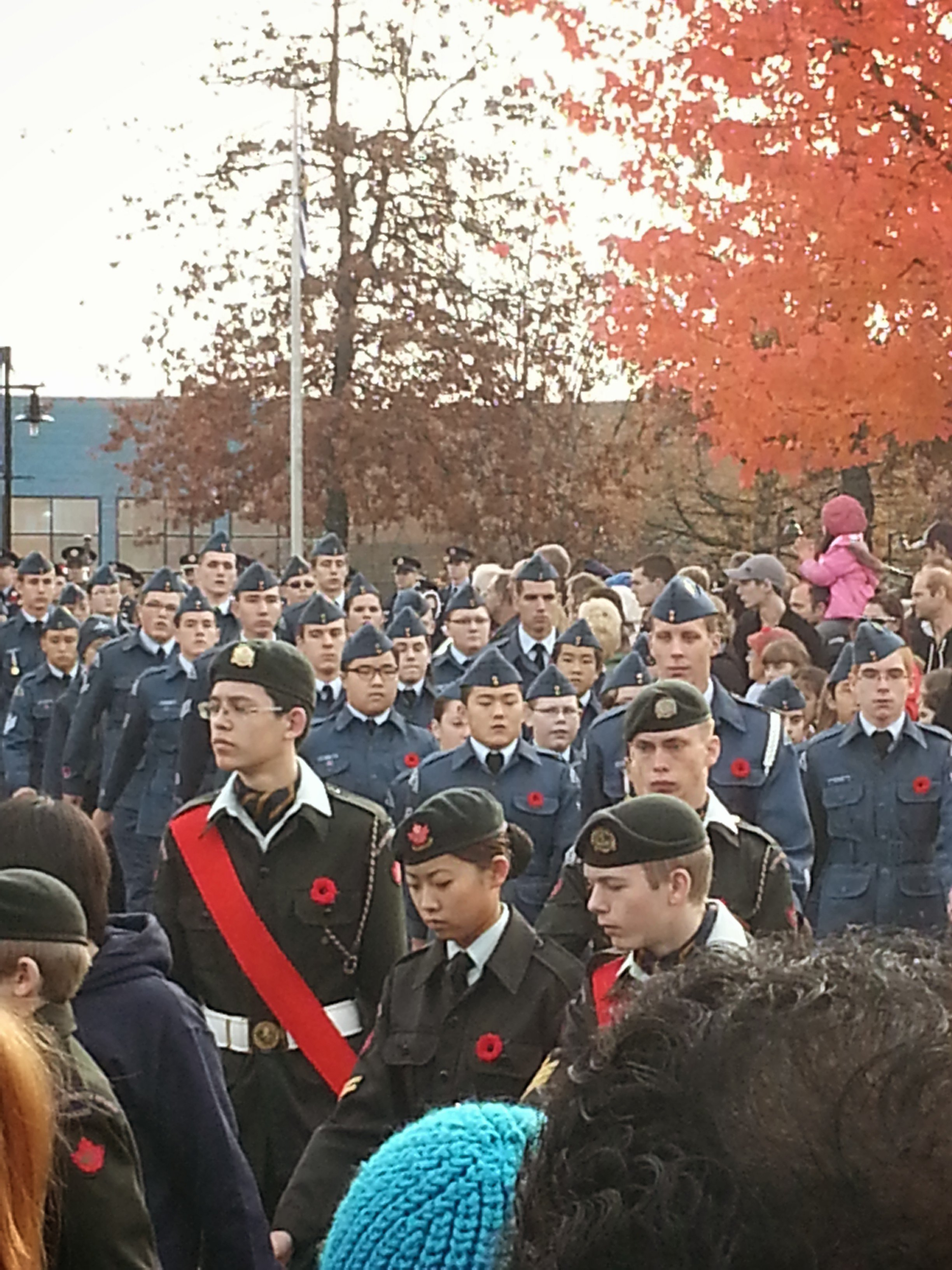 2013 Remembrance Day Parade Maple Ridge
