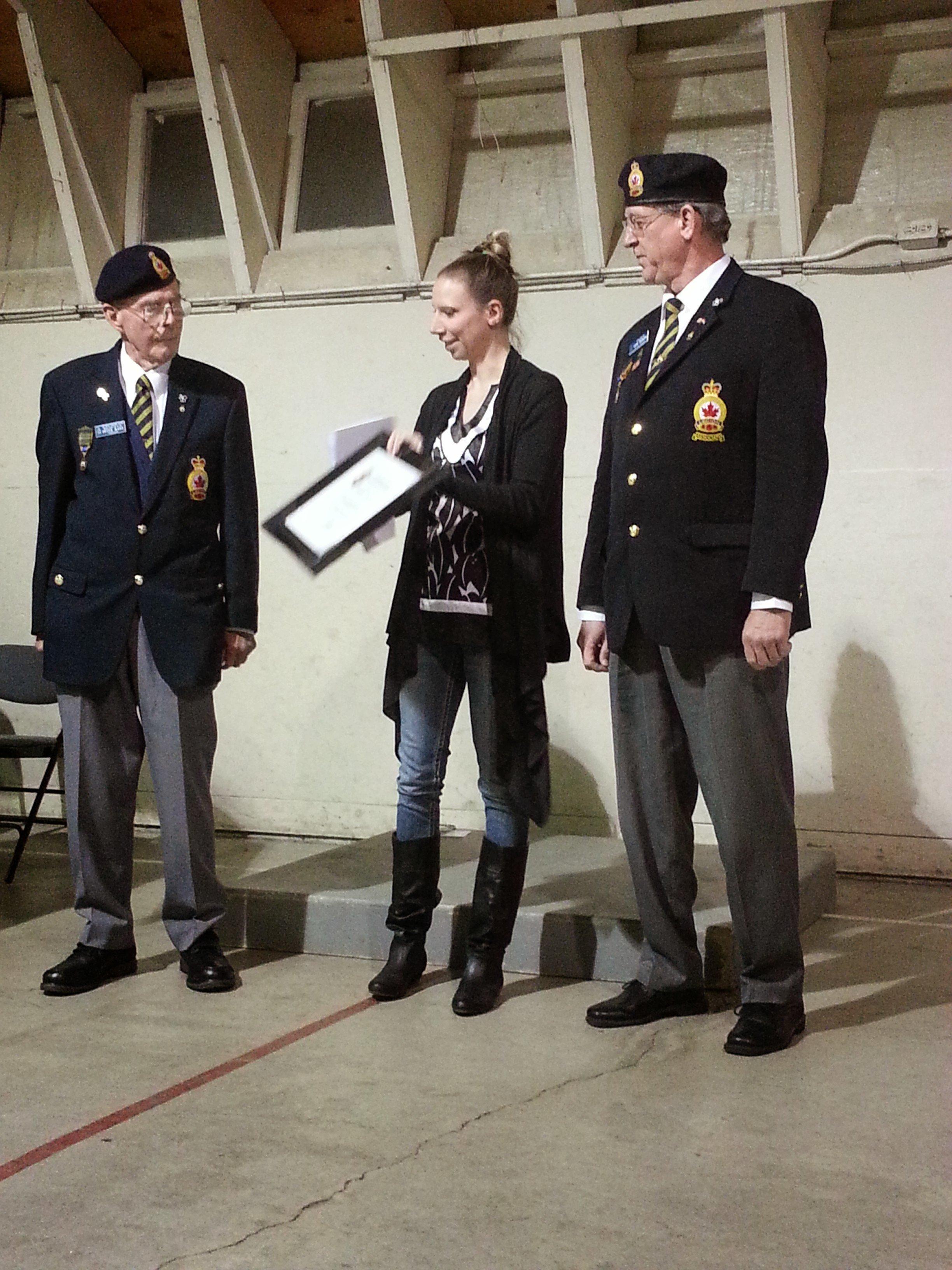 2013 Legion Award Presentation