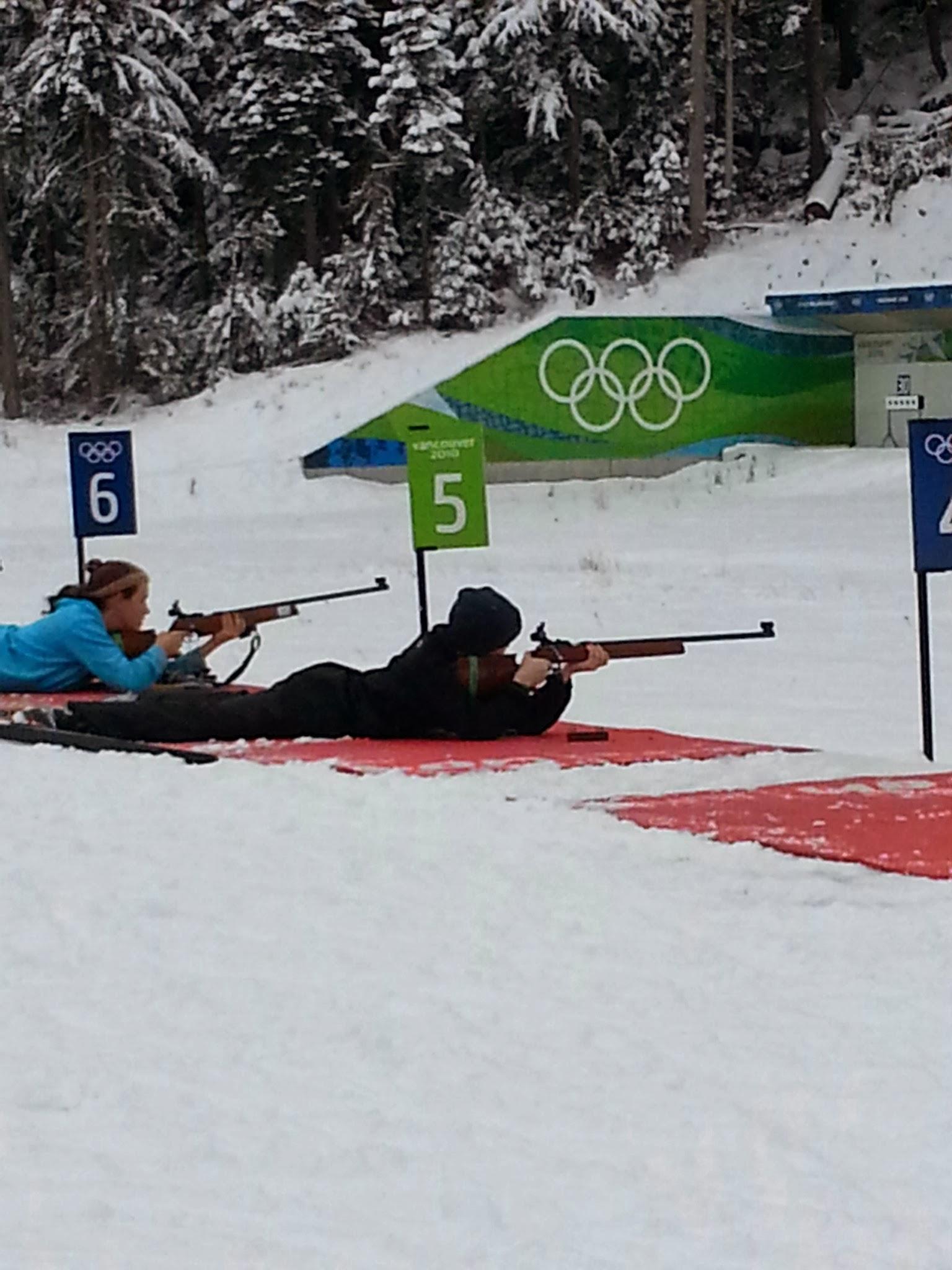 Biathlon Practice 2013