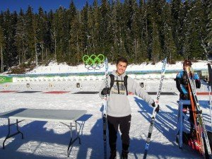 Zone Biathlon Olympic Park Whistler