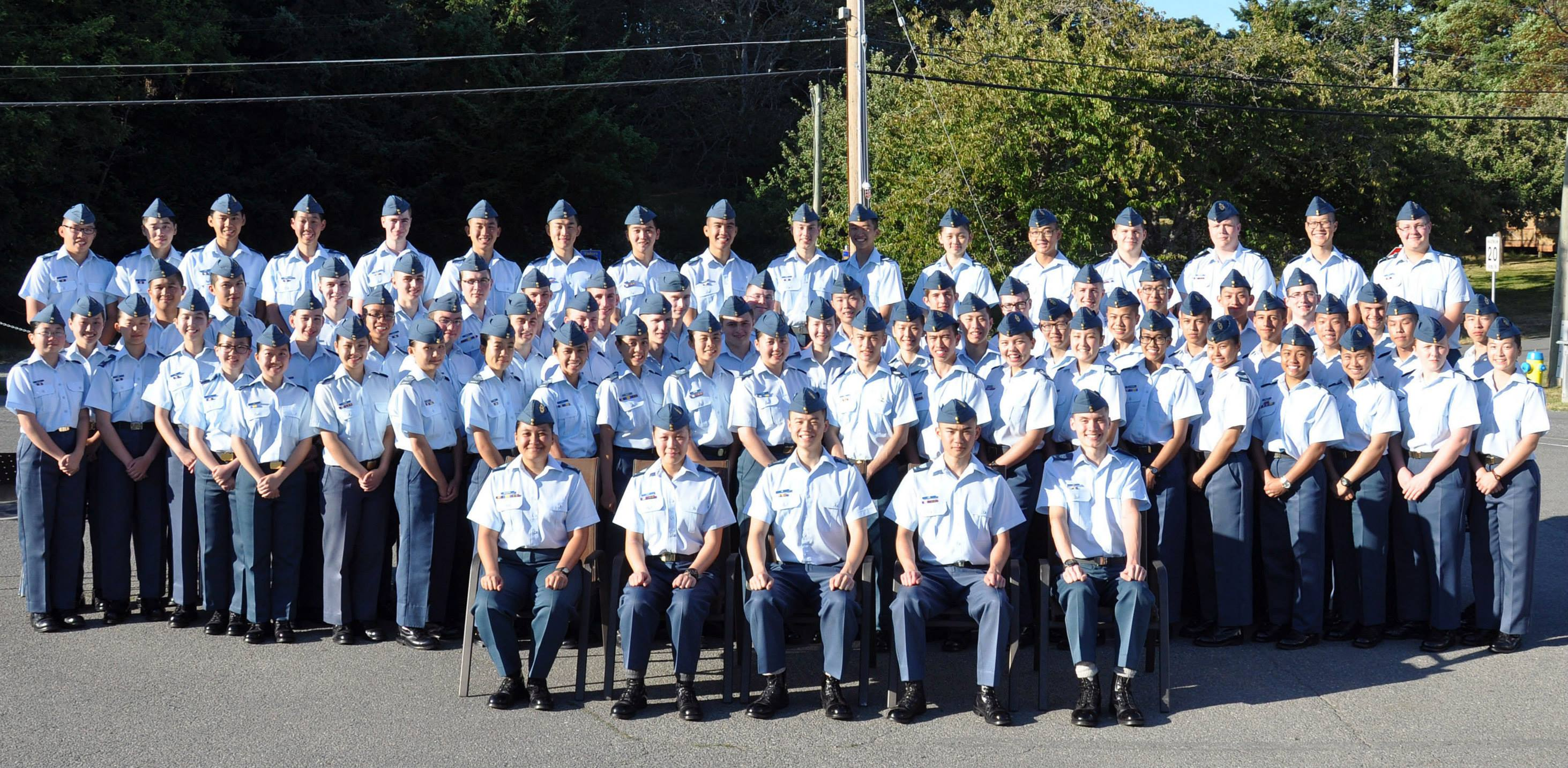 Staff Cadets - Albert Head
