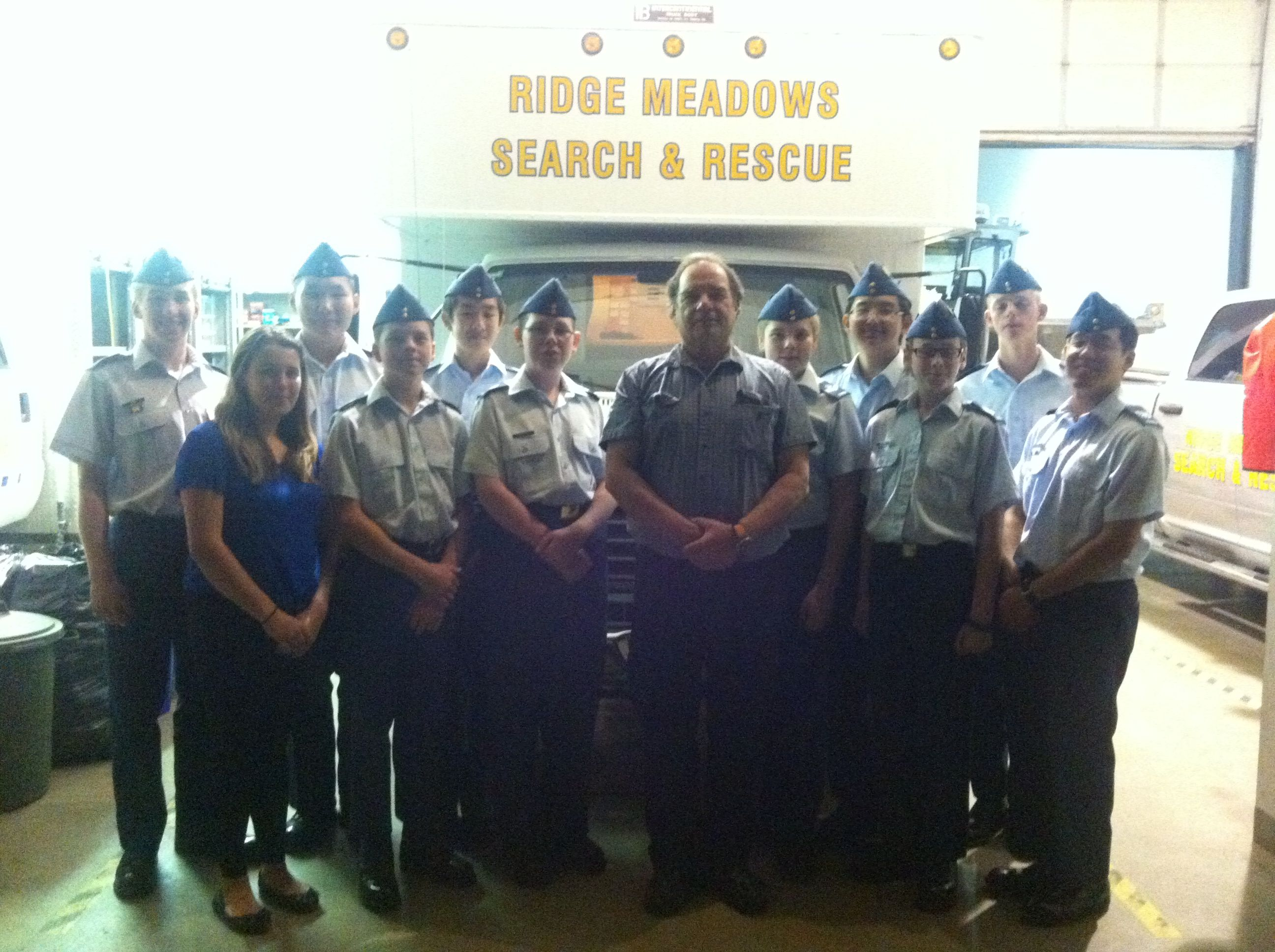 Level 3 Cadets Visit Ridge Meadows Search and Rescue (SAR), 2 Oct 14
