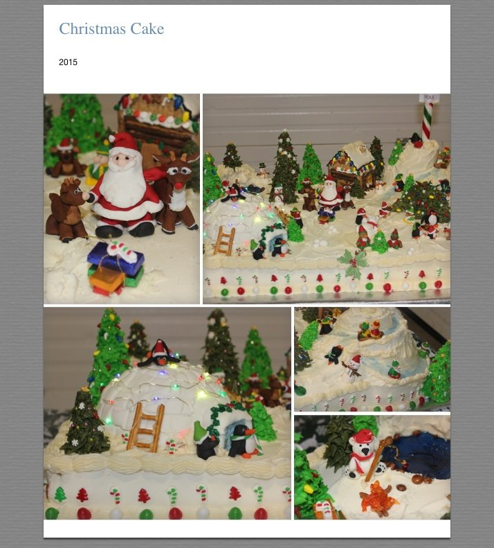Photos from Dec 17, 2015 Cake