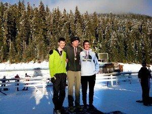 FSgt Clarke far left Bronze in Youth Male
