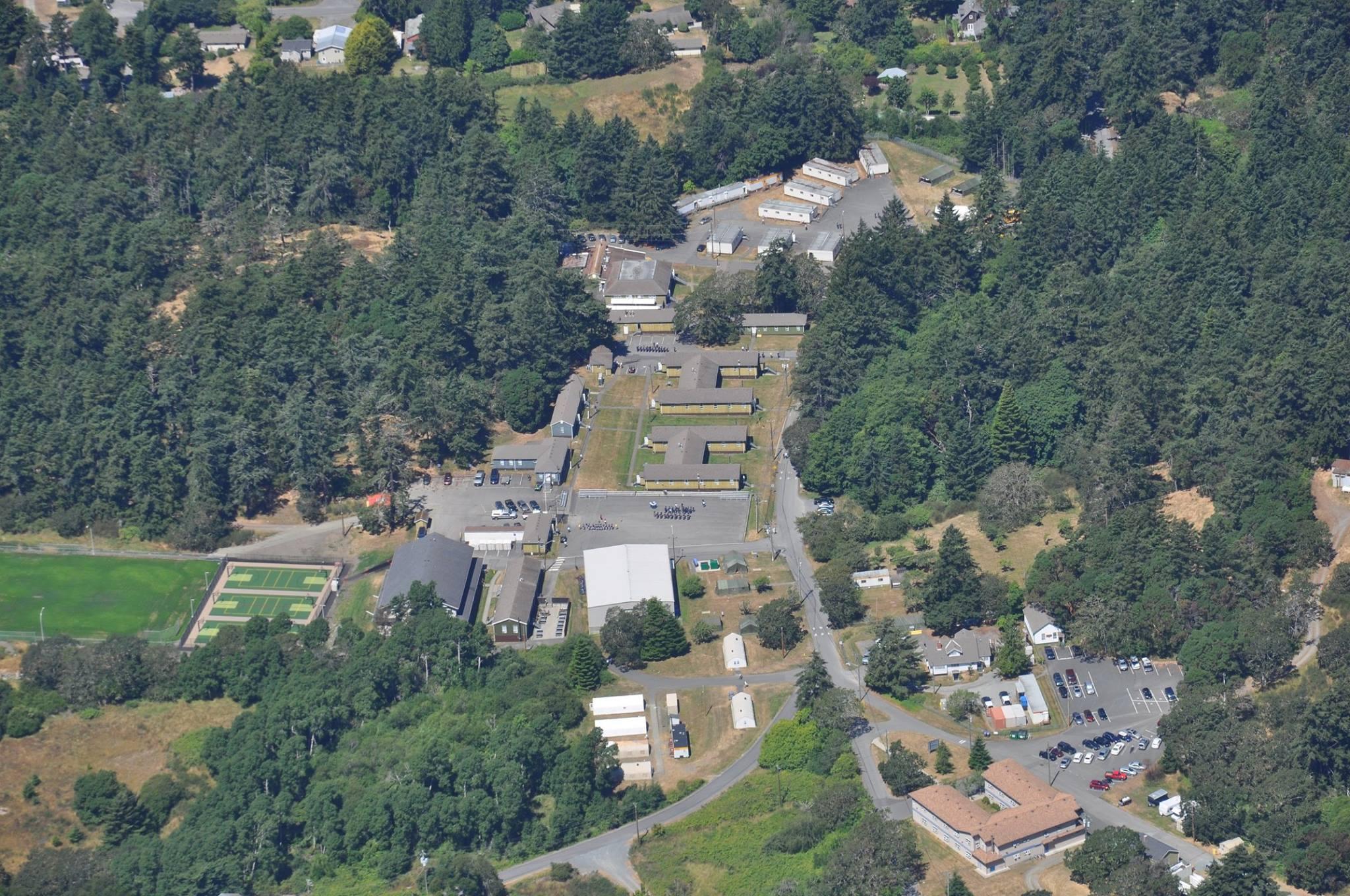 Aerial View of Albert Head