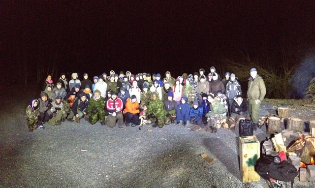 Chilliwack Search and Rescue and Franca the German Shepherd, Nov 2014 Junior Bush Exercise