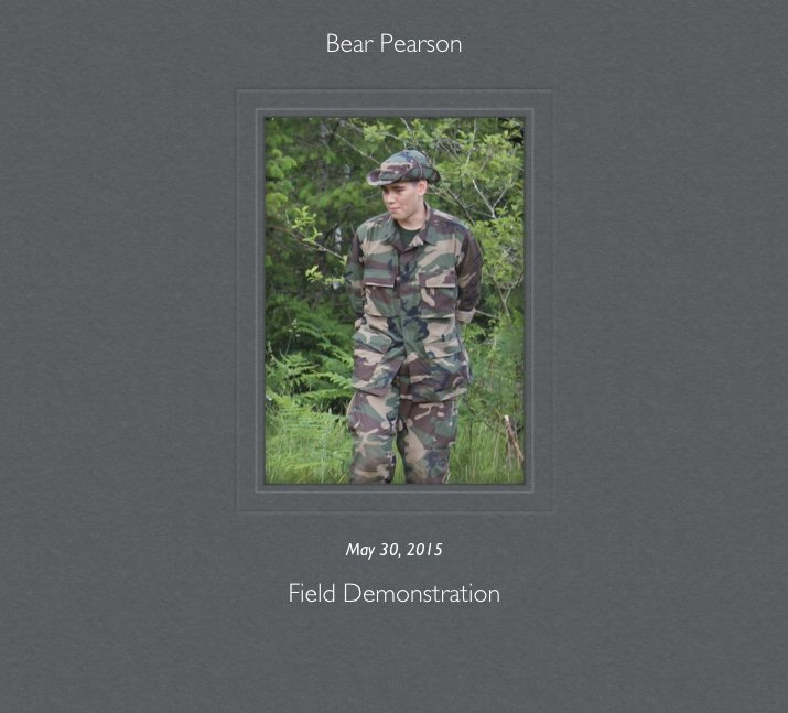 Bear PearsonPhoto from May 30, 2015