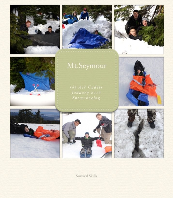 Snow shoeing 3