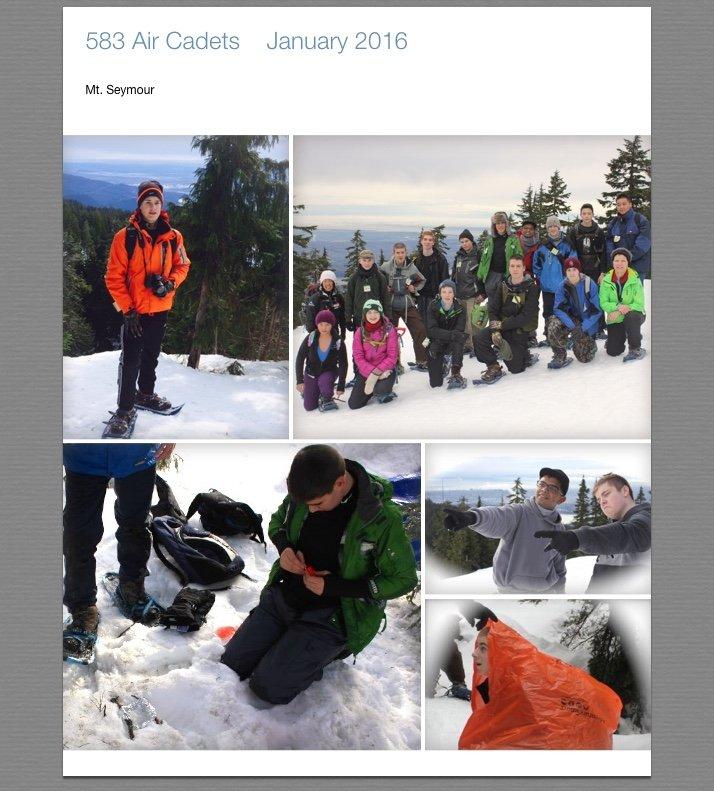 Snowshoeing 4