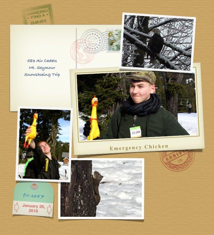 Snowshoeing 5