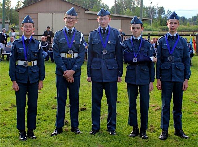 Left to Right: FCpl A Cichecki, FCpl Baptist, Cpl Lindsay, LAC Shchelkanov, Cpl Bokan, FCpl Boe (Absent)